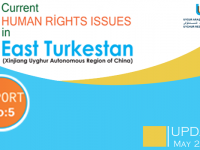 Updated Report: Current Human Rights Issues in the East Turkestan